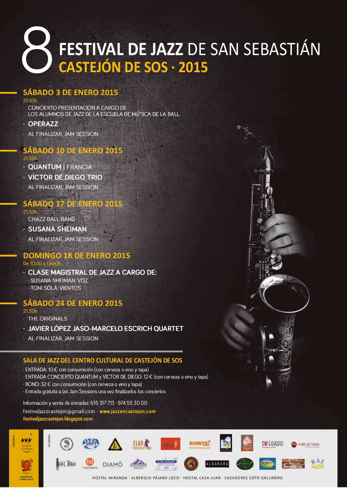 Cartel Festival Jazz 2015