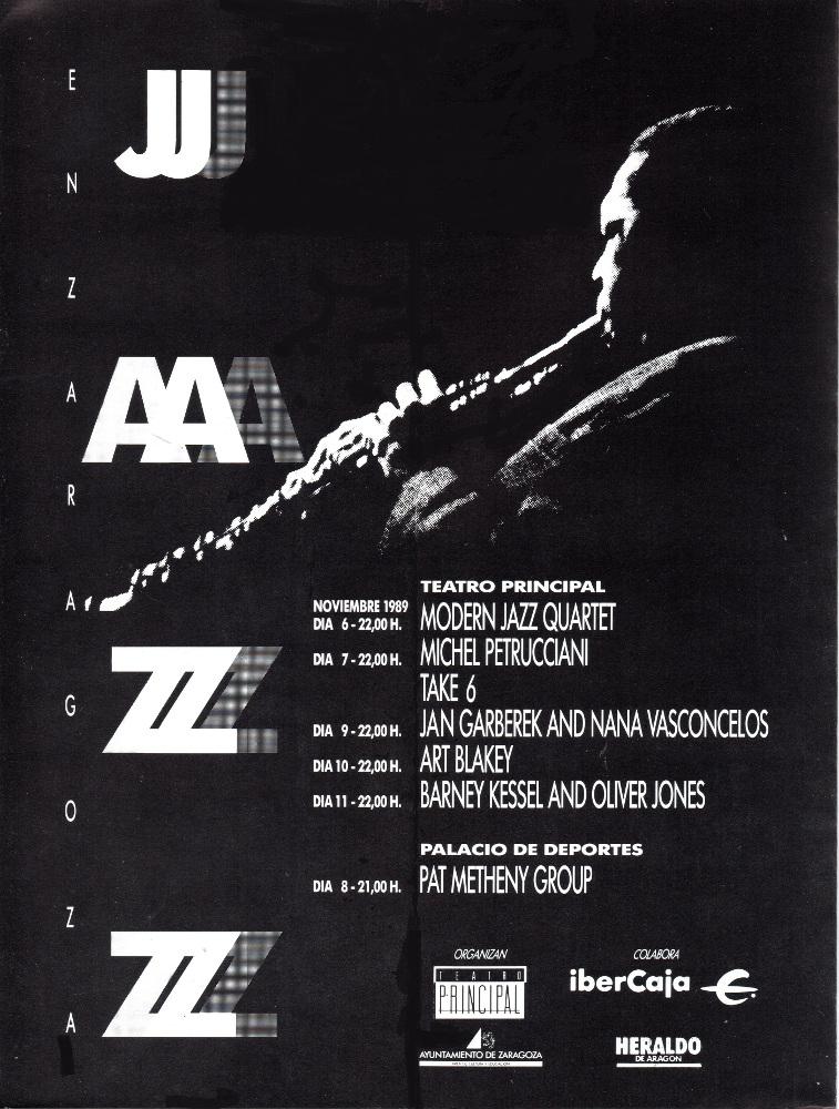 Festival Jazz 1989 Portada Retocada Blog