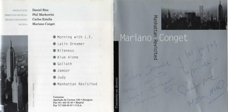 Mariano Conget Manhattan Revisited Frente Dbl