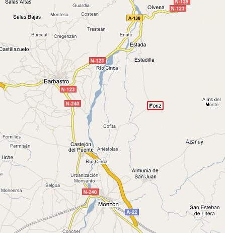 Mapa Fonz.